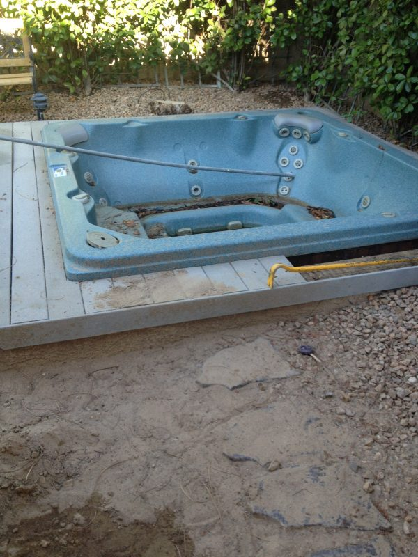 Henderson Hot Tub Removal